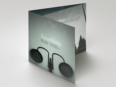 Mind Things EP Booklet, Humblety Music music art album cover design album artwork album art indesign graphic design print design branding graphic-design graphicdesign design typography type