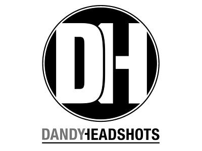 Dandy Headshots | Logo Identity lettering logo typography type design branding
