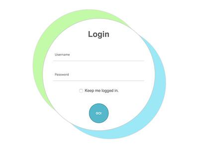 Codepen UI Login login design login screen login form login box uidesign ux design ui
