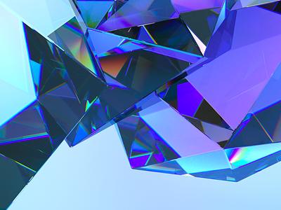 crystals octane octanerender crystal cgartist cgart illustration design cinema 4d 3d artist