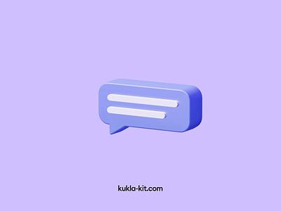 Kukla 3d illustration kit transition trending 3d icon 3d illustration blender 3d animation