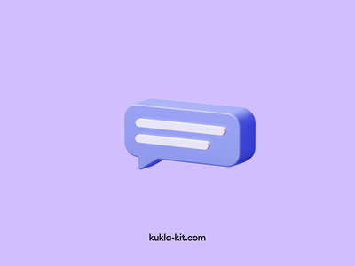 Kukla 3d illustration kit transition trending 3d icon 3d illustration blender 3d animation