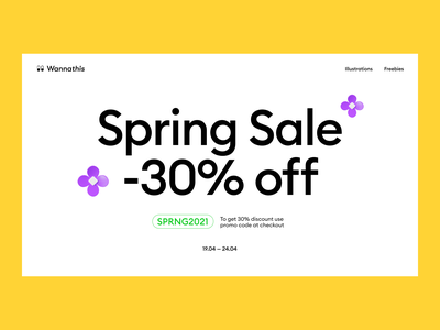 Spring Sale 3d typogaphy special ecommerce yellow 3d flower flowers coupon header 3d icon 3d sale spring sale