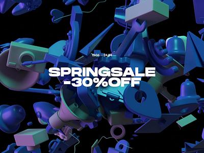 3d sale ecommerce ui settings 3d animation typogaphy 3d icon motion animation 3d sale