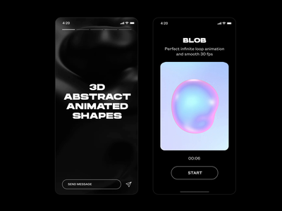 3d abstract animation product design sphere morphing c4d loop brutalism typography feature instagram mobile holographic holo animation abstract 3d abstract 3d