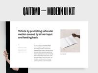 Qaitomo UI Kit  [article]