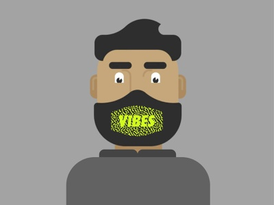 #1 Vibes: Design For Good Face Mask Challenge awesomemerch vibes bartlett creative logo hire me freelance identity design vector colorado typography denver branding