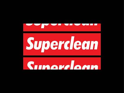 #3 Superclean: Design For Good Face Mask Challenge clean red mask coronavirus covid design vector colorado typography denver branding