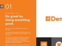 Denver Ad Club Re-Brand