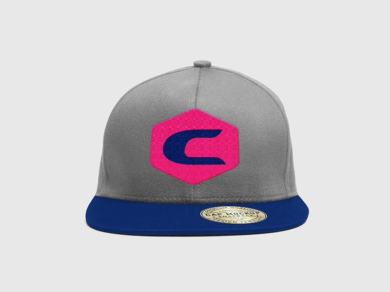 Chris Smith   Hat apparel swag vector c shield typography north carolina colorado identity non-profit freelance branding