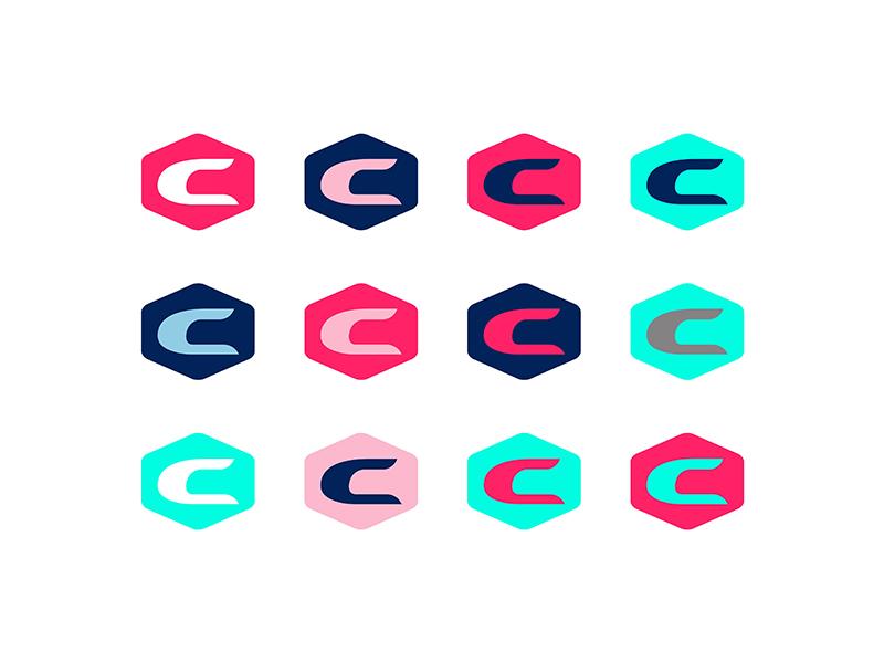 Chris Smith | All Badges apparel swag vector c shield typography north carolina colorado identity non-profit freelance branding