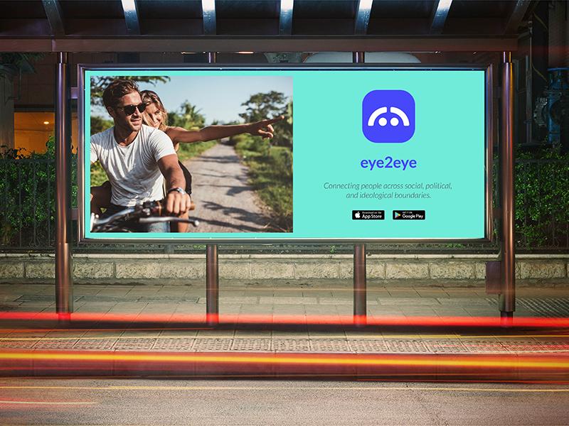 Billboard 1.4 billboard print vector icon simple typography colorado identity agency freelance branding