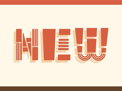 NEW Type Exploration freelance design colorado denver bartlett travis bartlett bartlett creative custom font typography design branding