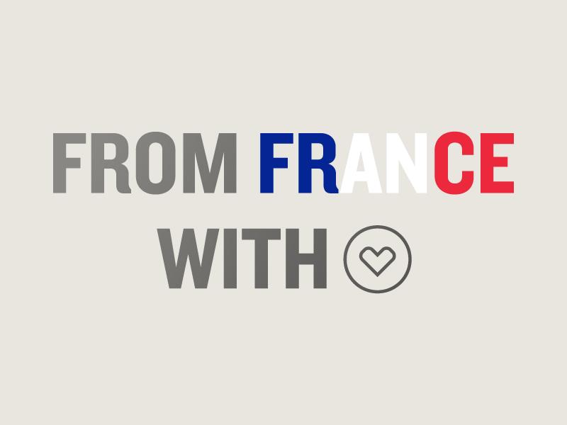 France with Love france campaign design colorado denver brand design travis bartlett bartlett creative typography wine design branding