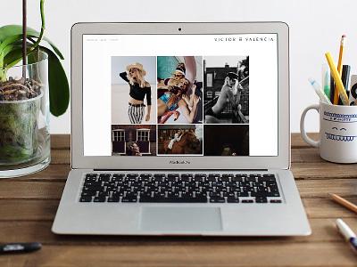 Victor of Valencia NEW Website denver web design web design colorado denver web travis bartlett bartlett creative clean website design branding