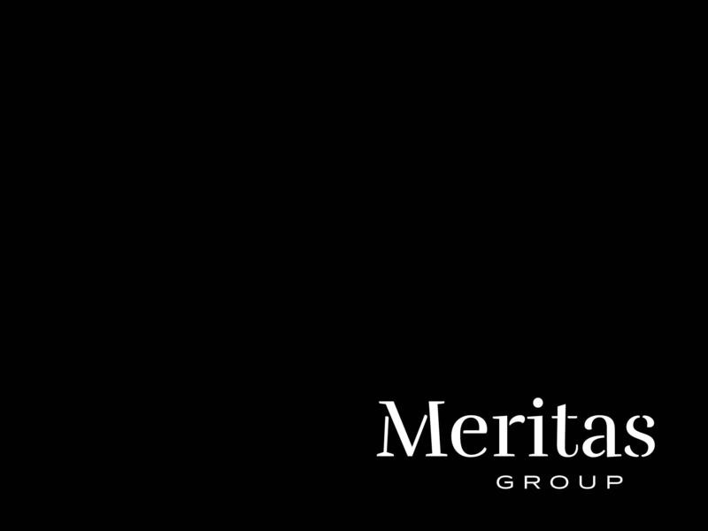 Meritas Group travis bartlett print black bartlett creative logo hire me illustration freelance identity design vector colorado typography denver branding