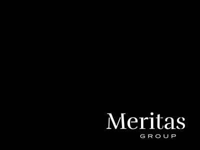 Meritas Group travis bartlett print black bartlett creative logo hire me illustration freelance identity design vector colorado typography denver branding