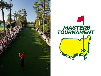 The Masters bartlett creative logo freelance identity design vector golf colorado typography denver branding