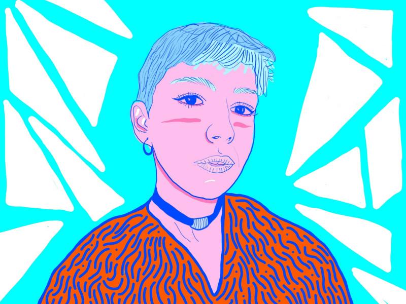 türkan. woman style illustrator illustration