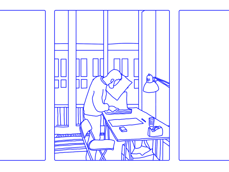 Quarantine illustrator fun motion animation design illustration