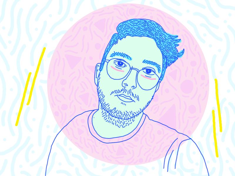 Selfie design fun motion illustrator illustration