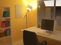 Room (Night - Yellow)