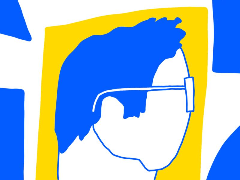 That's Me profile character fun motion illustrator design illustration