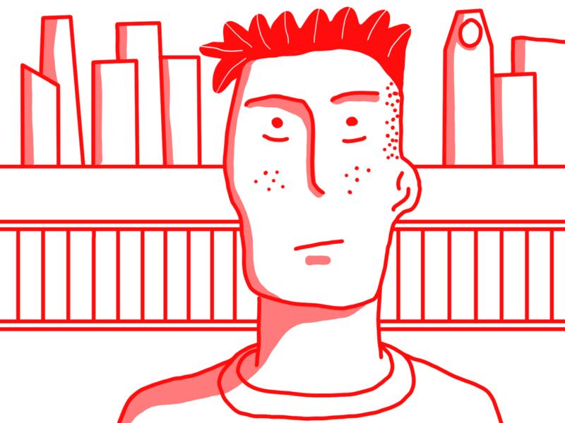 red. animation illustrator design illustration red