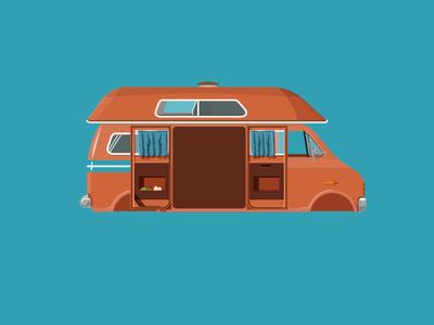 Napoleon Dynamite - Orange Van
