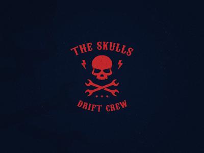 The Skulls - A drift crew logo