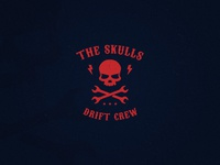 The Skulls - A drift crew logo