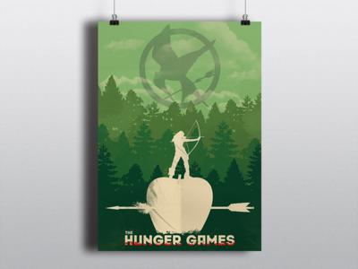 The Hunger Games district forest apple arrow arch peeta everdeen katniss tordo hungergames