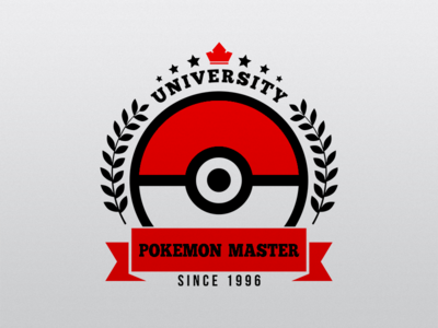 University Pokemon crown since1996 flower star pokeball master university pokemongo pokemon