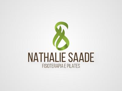 Nathalie Saade - Logo marca saade nathalie physiotherapy pilates fisioterapia branding brand logo