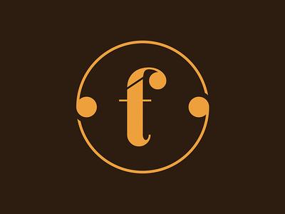 F + T makeup fashion fulanadetal typography t f minimalist logotype monogram brand logo ft
