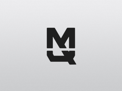 M + Q quandt mateusquandt branding logotype logo brand minimalist icon mq q m monogram
