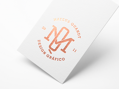 M + Q graphic  design monogram mateusquandt branding q m mq minimalist mark logotype logo brand