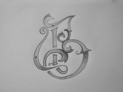 Personal Project B 10/10 handmade pencil letters lettering