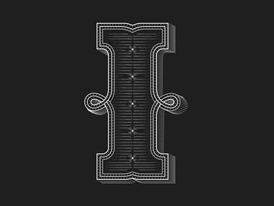 Personal Project Lettering I branding design letters typography illustration illustrator black lettering graphicdesign vector