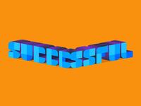 lettering successful