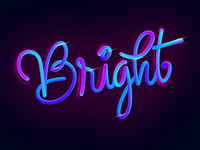 Lettering Bright
