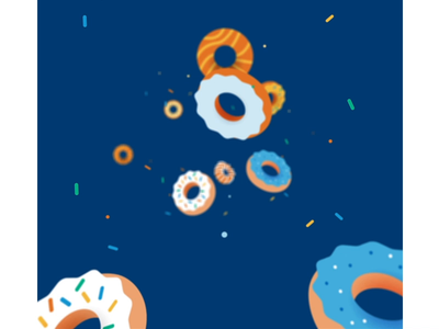 Donut Day michael mazourek mike mazoo mazoo lemonly dessert pastry animation 2d 3d animation holiday donut day donut
