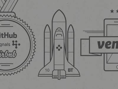 Braintree + Venmo Timeline Illustrations