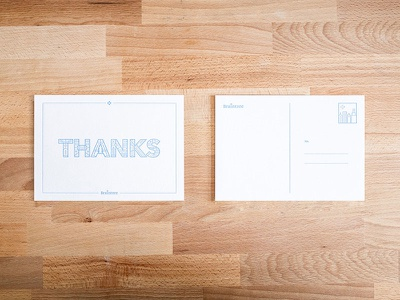 Braintree Thank You Card