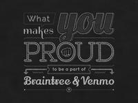 Braintree+Venmo Office Chalk Art