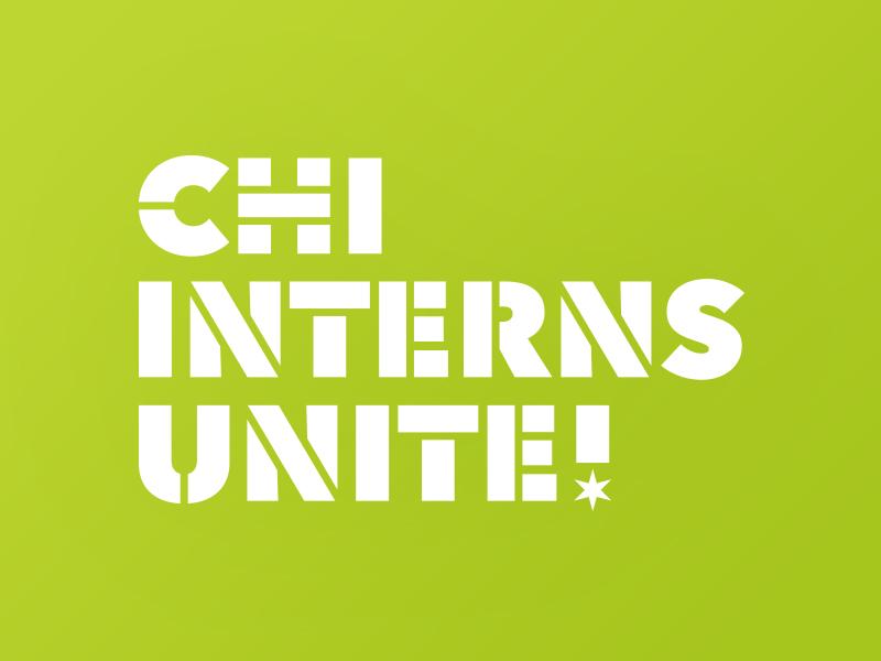 Chi Interns Unite Logo