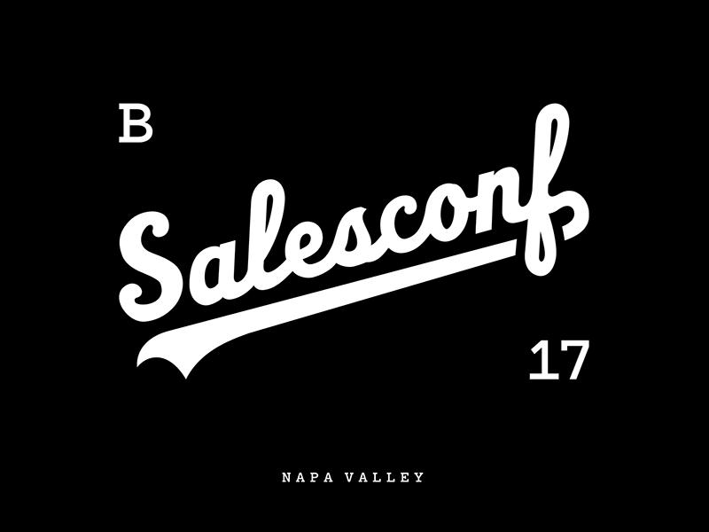 SalesConf Logo & Mark Concepts logo typography identity branding