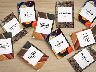 Simple Merchant Brands logo identity design typography branding