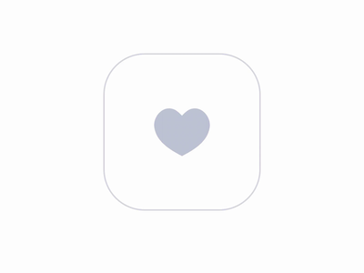 Spread love, not viruses micro ux interaction heart like favorite minimal ux animation