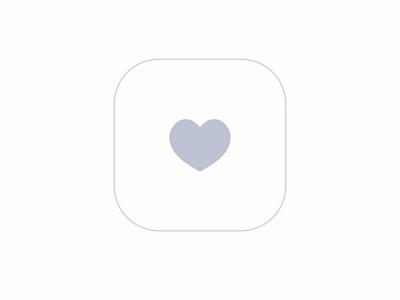 Spread love, not viruses micro ux interaction heart like favorite minimal ux animation